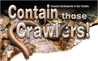 earthworms - contain them