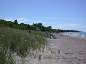 Kincardine dunes Aug 2003